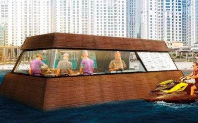World's first floating restaurant to open in Dubai