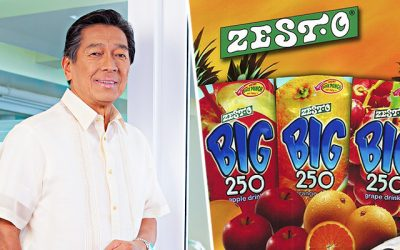 "From street vendor to ""Juice King"" of the Philippines"