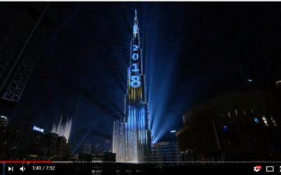WATCH: Burj Khalifa's record-breaking laser light show