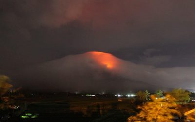 Families affected by Mayon unrest now at 5,000