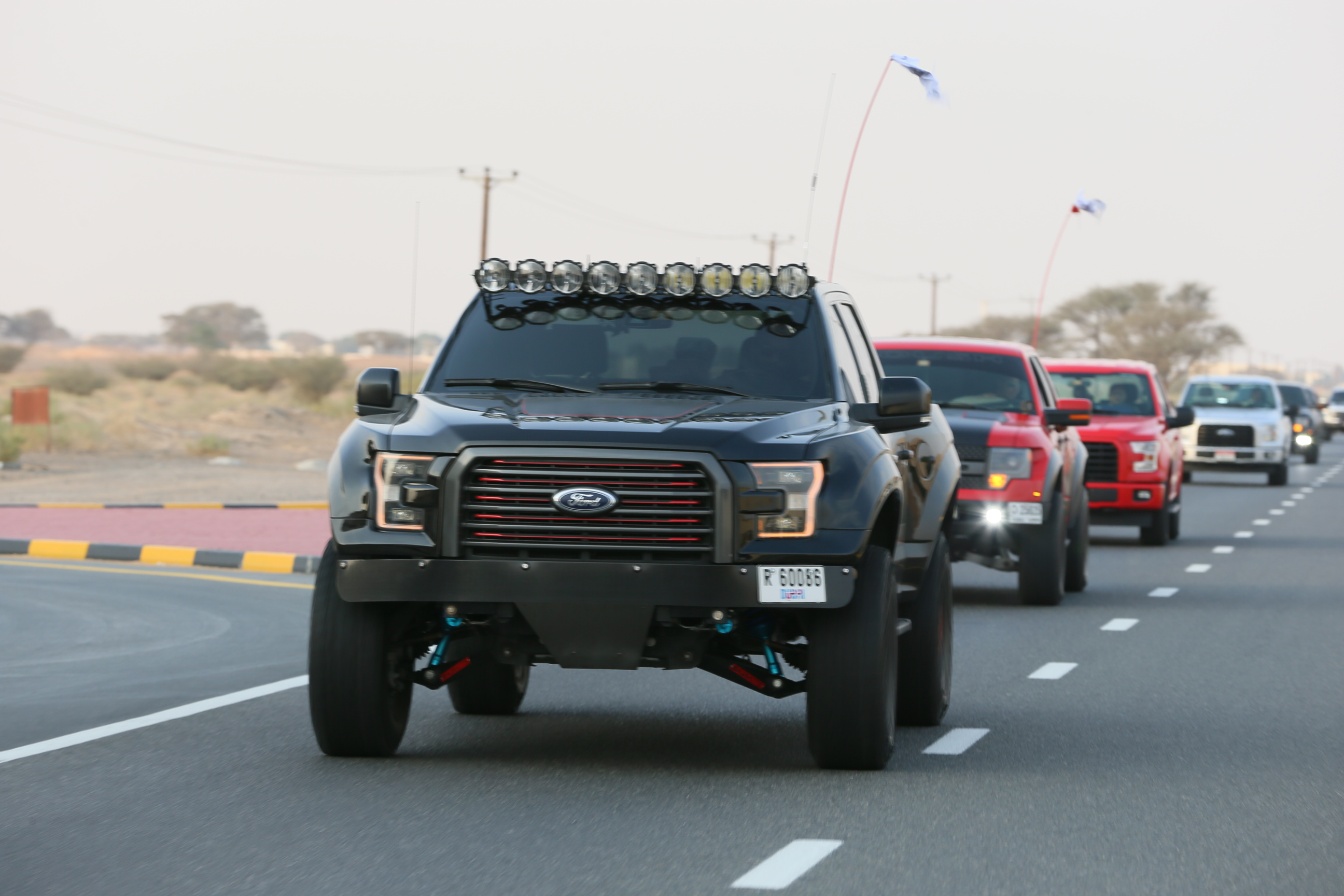 The event began from the Al Tayer Motors Ford showroom on Sheikh Mohammed Bin Zayed Road in Sharjah. Participants were in for a treat as they were able to ...