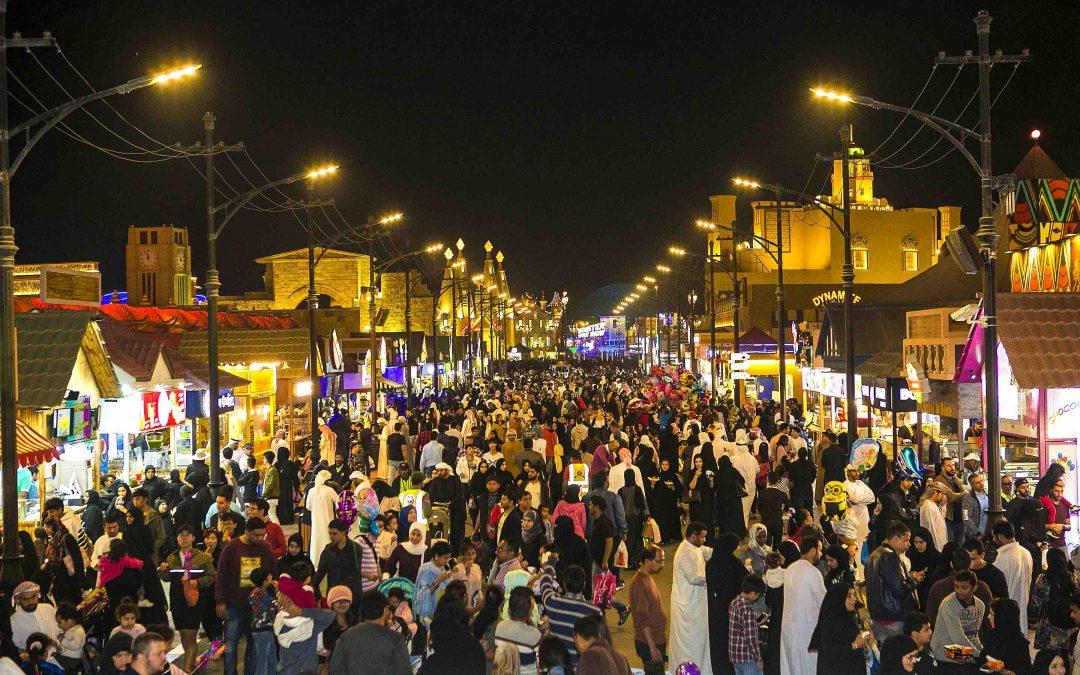 2.4 Million Happy Global Village Guests