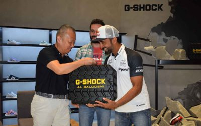 Casio G-Shock, Emirati motocross champ launch limited edition Mudmaster