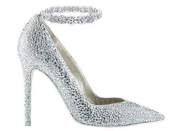 Dh1.1M worth of sparkly shoes for sale in Dubai