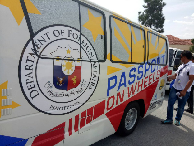 Passport-On-Wheels arrives in Central Luzon