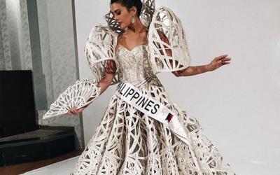 Katarina Rodriguez wears Francis Libiran for nat'l costume
