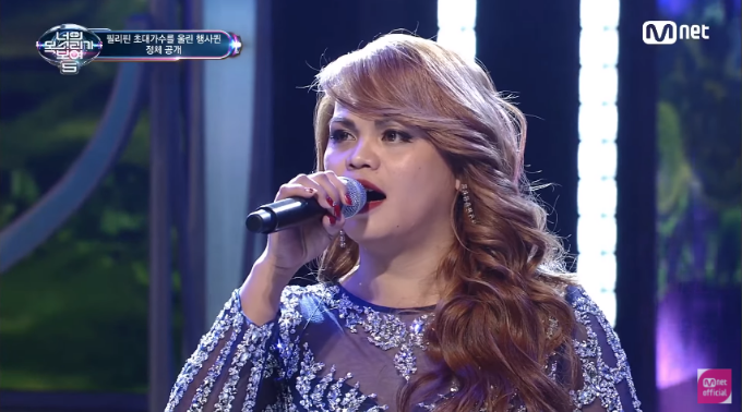 "Filipino singer performs doble-kara in ""I Can See Your Voice"" South Korea"