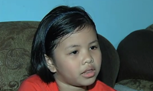 10-year-old OFW daughter returns lost P10,000