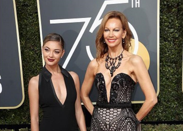 Celebs wear creations of Pinoy designers at Golden Globes 2018 red carpet