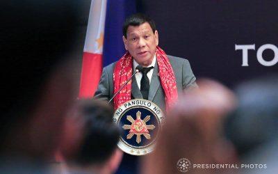 Duterte laments crime figure in survey