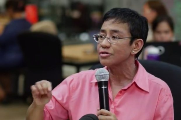 Maria Ressa arrested for cyber libel