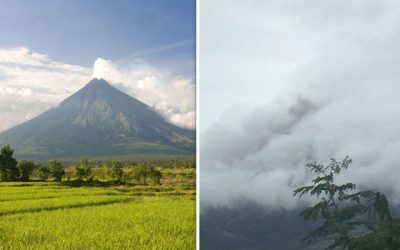 Mayon Volcano status raised to Alert Level 2
