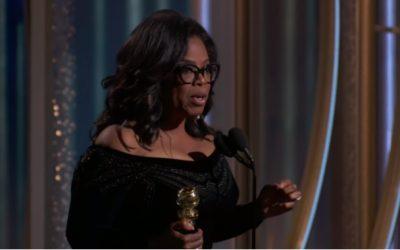 Oprah Winfrey's powerful Golden Globes 2018 speech