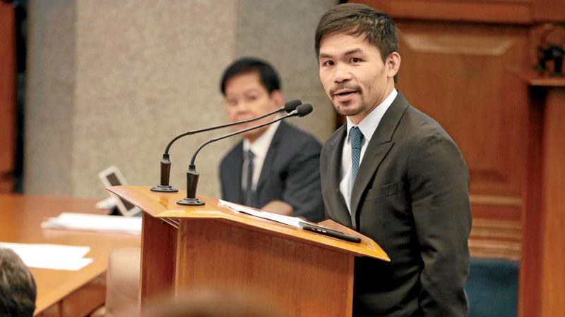 Pacquiao clarifies scope of death penalty proposal