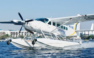 Fly from Ajman to Dubai in a 9-seater seaplane for Dh995