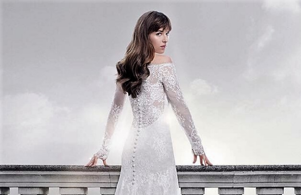 Anastasia wears Filipino-made gown in Fifty Shades of Grey's final sequel