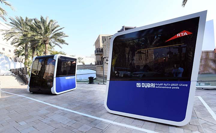 Futuristic Mass Transport Test Run