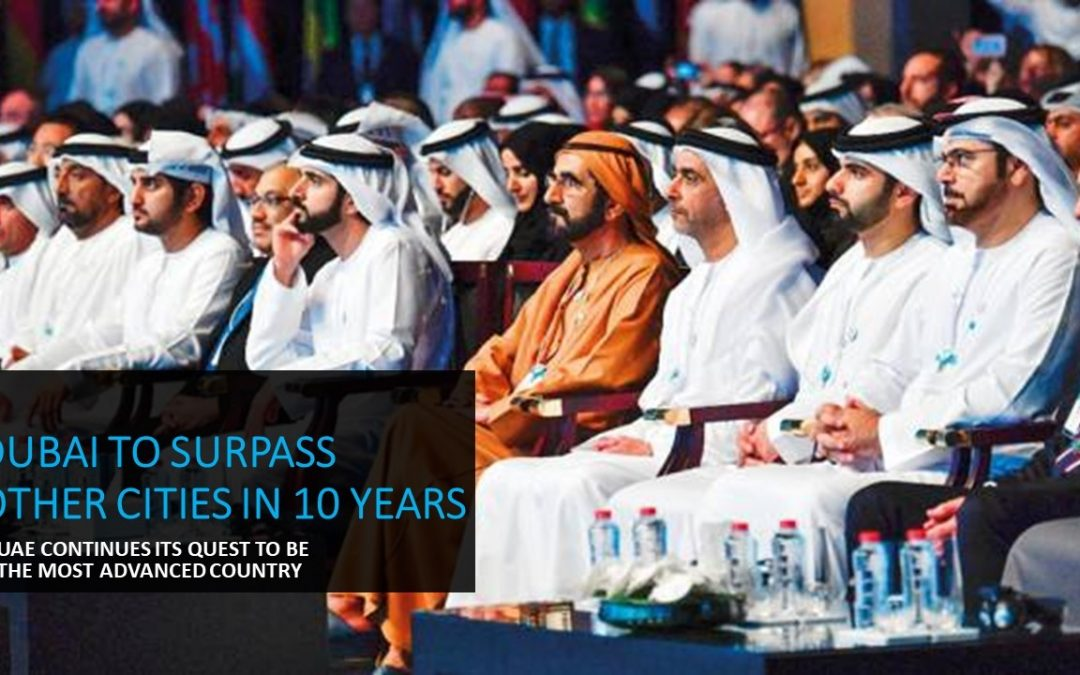 Dubai to surpass other cities in technology and services by 10 years