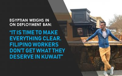 Egyptian defends PH's total deployment ban in Kuwait
