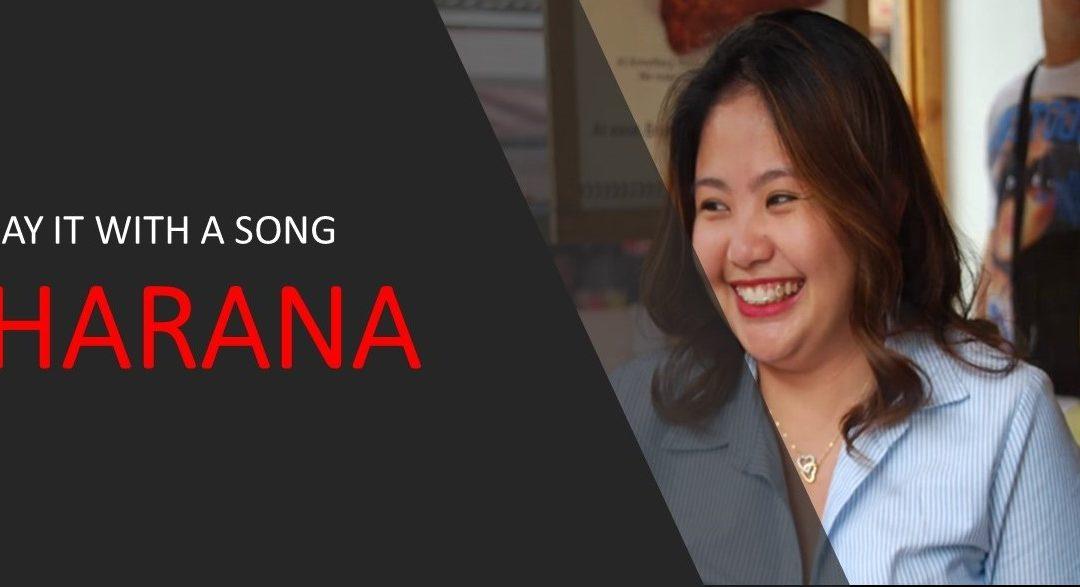 Say it with song! Harana