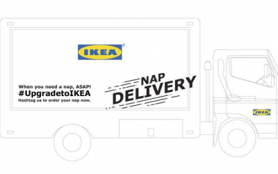 IKEA 'nap truck' starts rolling around the UAE today