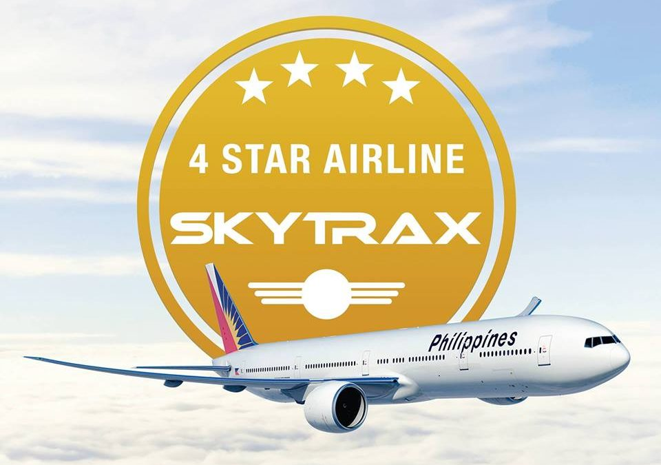 PAL is now certified 4-star airline
