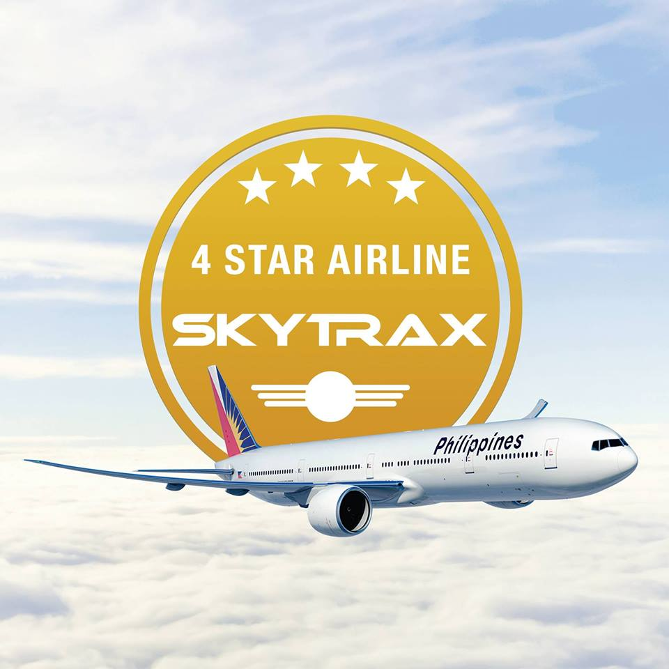 Its Rating On Flag Carrier Philippine Airlines PAL To 4 Star For Significant Improvements In Flight And Ground Services The Last Two Years