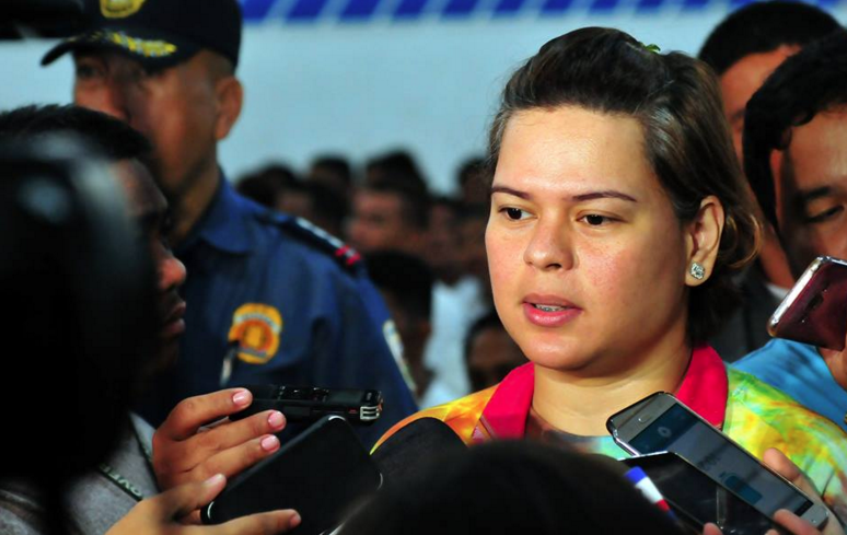 Sara Duterte offers to join her father's future trips to prevent another kissing incident