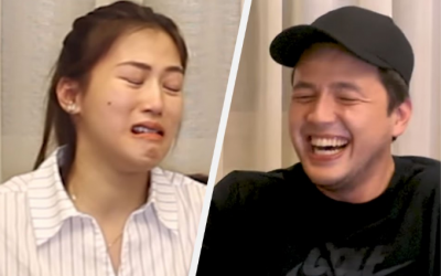 WATCH: Alex Gonzaga, Paul Soriano take on spicy noodle challenge in hilarious video