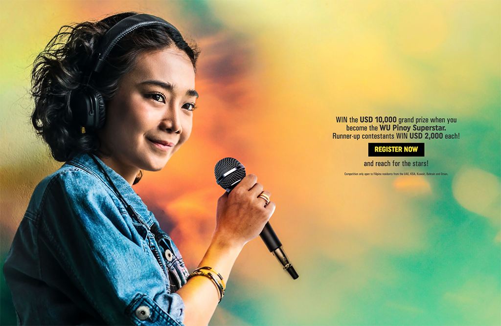 Western Union's quest for ultimate Filipino singing champ in the UAE