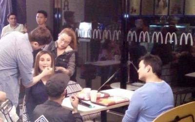 Sharon Cuneta, Gabby Concepcion reunite for fast food commercial?