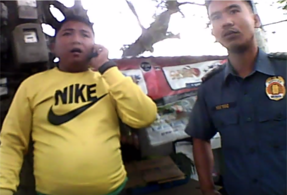 Motorist with no plate number, driver's license seeks padrino's help