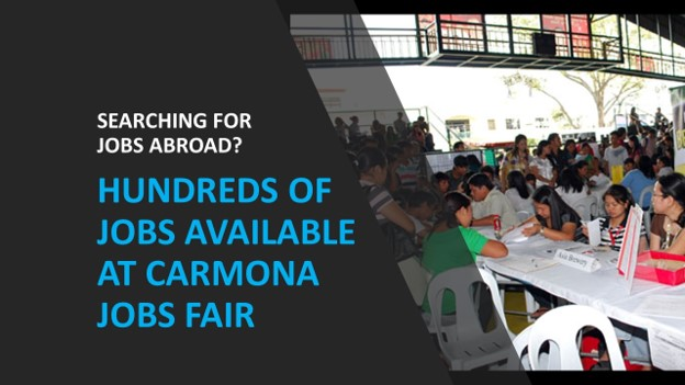 Hundreds of jobs in UAE, Taiwan up for grabs at Mega Jobs Fair in Cavite