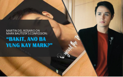 Martin del Rosario weighs in on Mark Bautista's revelation
