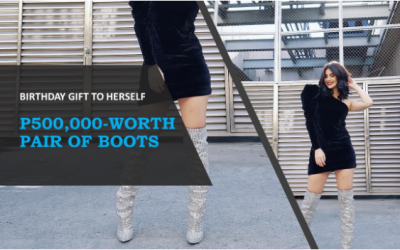 LOOK: Anne Curtis' birthday boots costs more than P500K