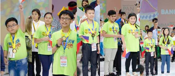 Filipino math wizards bag 87 medals in Thailand Math