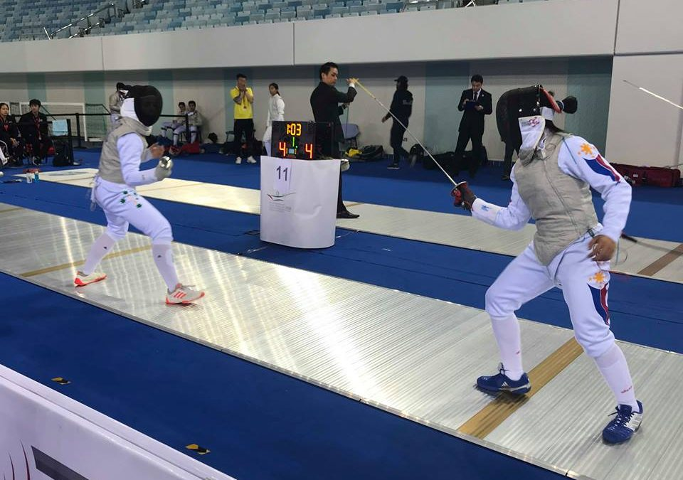 Phil contingent slugs it out at int'l fencing tourney in Dubai