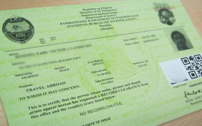 Do you need NBI clearance when you change your job in UAE?