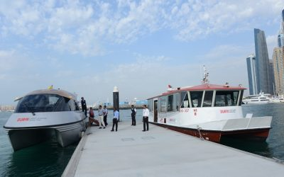 RTA exhibits air-conditioned abra at Dubai International Boat Show