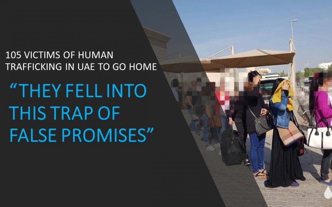 PH Embassy in UAE repatriates 105 victims of human trafficking
