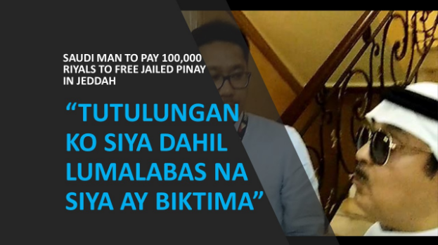 Saudi man to pay 100,000 Saudi riyals to free jailed Pinay in Jeddah