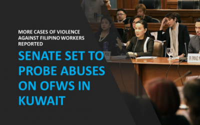 Senate set to probe abuses on OFWs in Kuwait