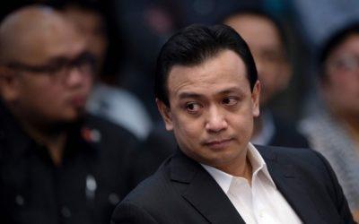 Trillanes stays in Senate overnight to study case