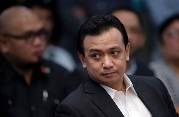 Trillanes stays in Senate overnight to study case