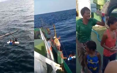 VIRAL: Marines rescue family stuck at sea for 3 days