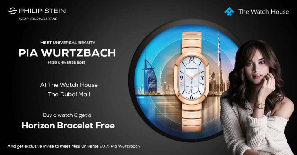 Here's how you can catch Pia Wurtzbach at The Watch House