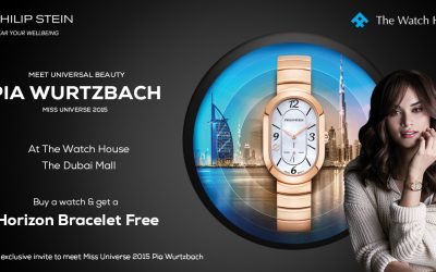 Here's how you can catch Pia Wurtzbach at The Watch House, Dubai Mall
