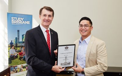 Dubai-bred Pinoy, one of Brisbane's student ambassadors