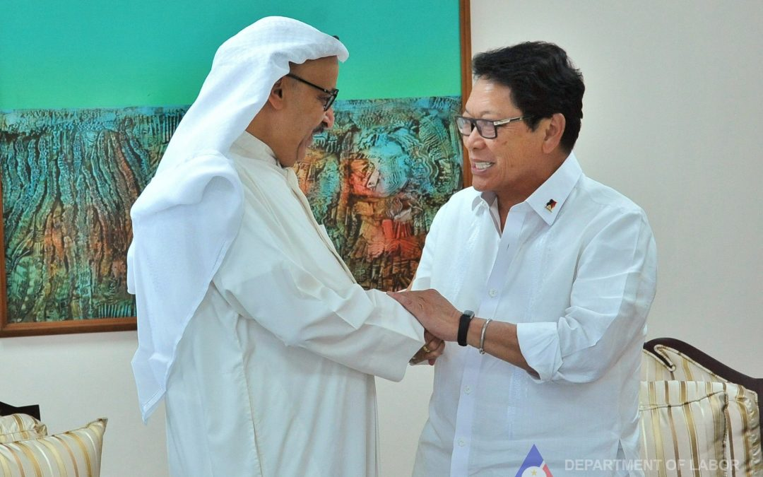 Kuwaiti officials set to visit PH for OFW talks this week