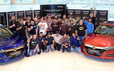 Honda UAE Club celebrates launch of the all-new Accord